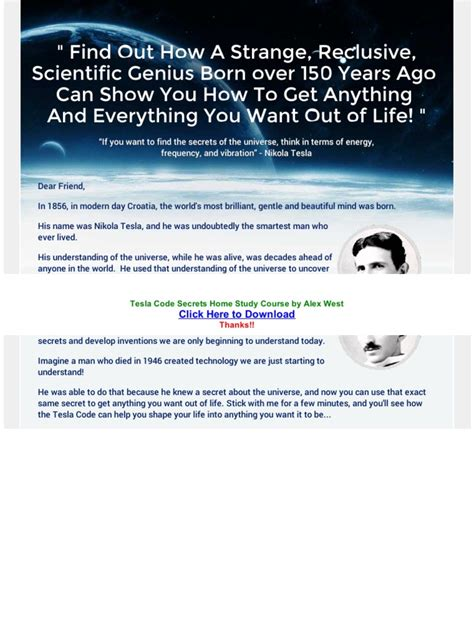 @ Secrets   Tesla Code Secrets   Brand New For 2017 .