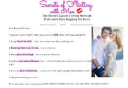 @ Secrets Of Flirting With Men   My Shocking Review.