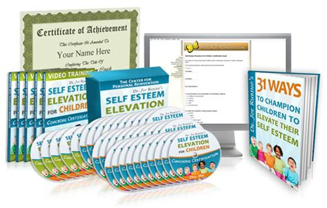 @ Self Esteem Elevation For Children Coaching Certification .