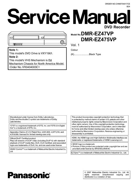 Service Manuals - Epanorama.net - Links.