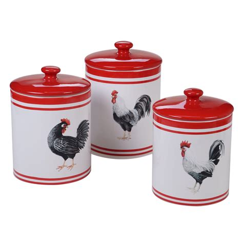 Set Of Three Canisters - Walmart Com.