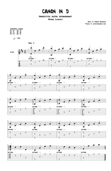 [click]sheet Music And Tab For Classical Guitar Free Pdfs .
