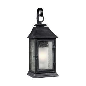 Shepherd Large 1-Light Dark Weathered Zinc Outdoor 14 18 .