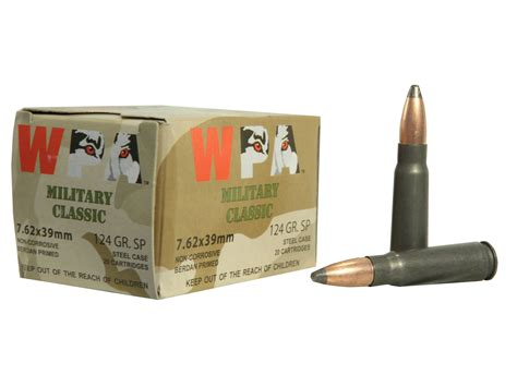 Shop For Cheap Price Military Classic Ammo 7 62x39mm 124gr .