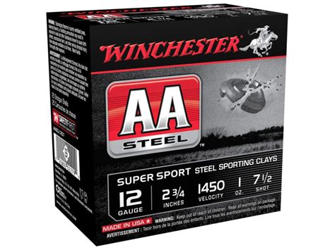 Shop For Low Price Aa Supersport Ammo 12 Gauge 2-3 4 1 Oz .