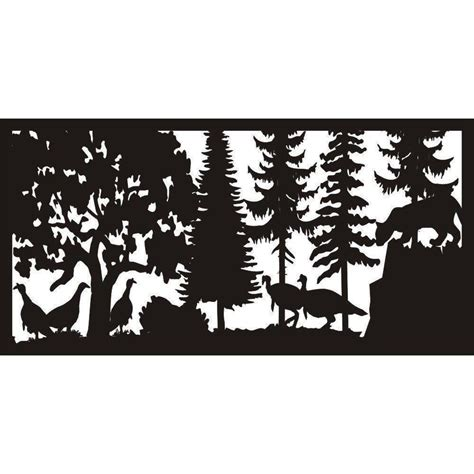 Shop For Mountain Lion And Turkeys Panel 24 X48 Online .