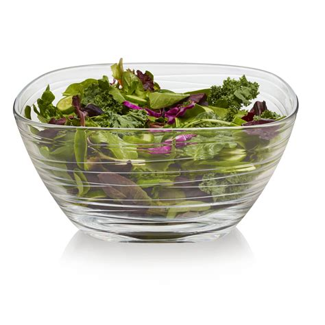 Shop Libbey Aviva 6-Piece Small Glass Wave Side Bowl Set .