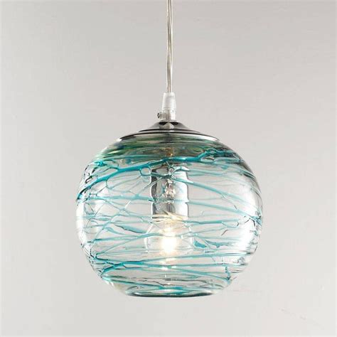 Shop Turquoise Blue Pendant Lighting  Bellacor.