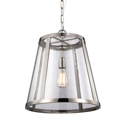 Shopping Special Feiss 1-Light Harrow Pendant - People Com.
