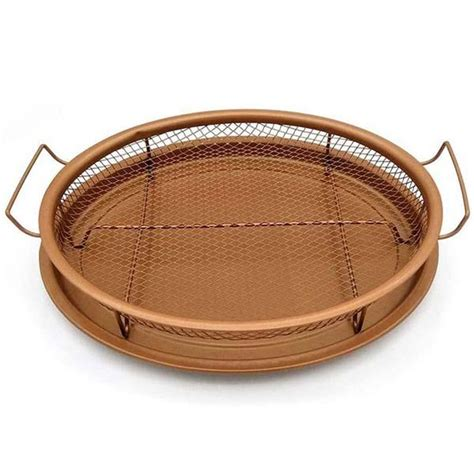 Shopping Special Nonstick Round Copper Tray Oven Air .
