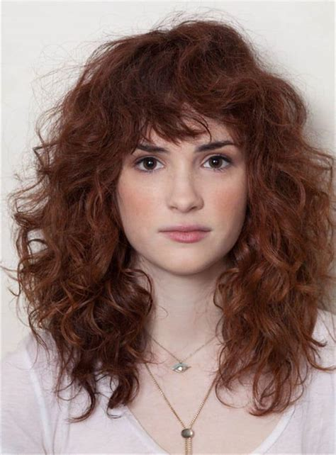 how to style short curly hair with bangs Page 2 images