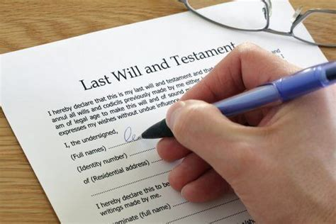 Should I Use A Last Will And Testament Template? Legalzoom.