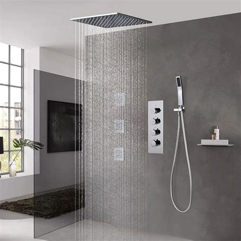 Shower Systems  Rain Body Spray  Hand Showers.