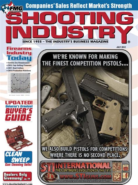 Shtng Industry July 2012  Firearms  Projectile Weapons.
