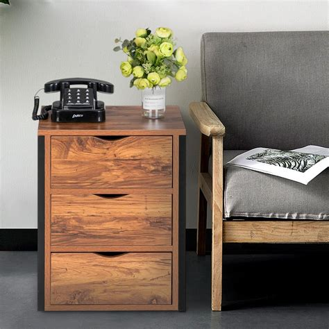 Side End Tables With Drawers