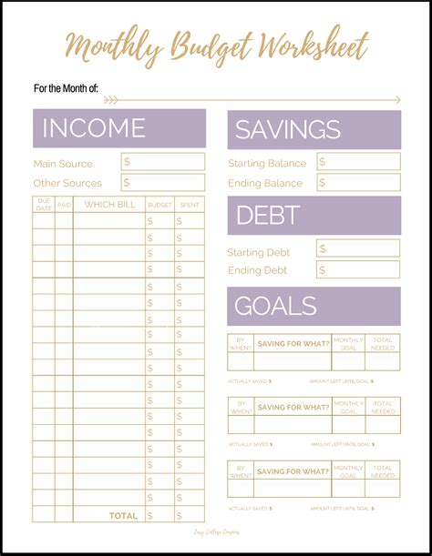 [pdf] Simple Budget Worksheet - Usaa.
