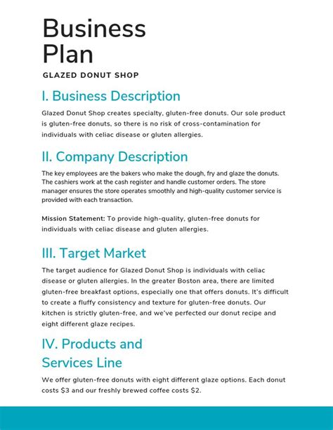 [click]simple Business Plan Templates For Entrepreneurs.