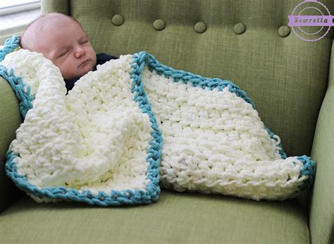 Simple Crochet Baby Blanket Patterns For Beginners