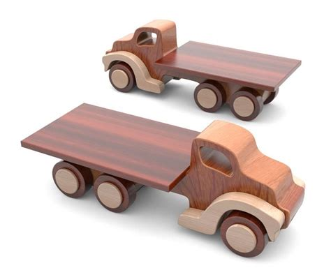 Simple Wooden Toy Truck Plans