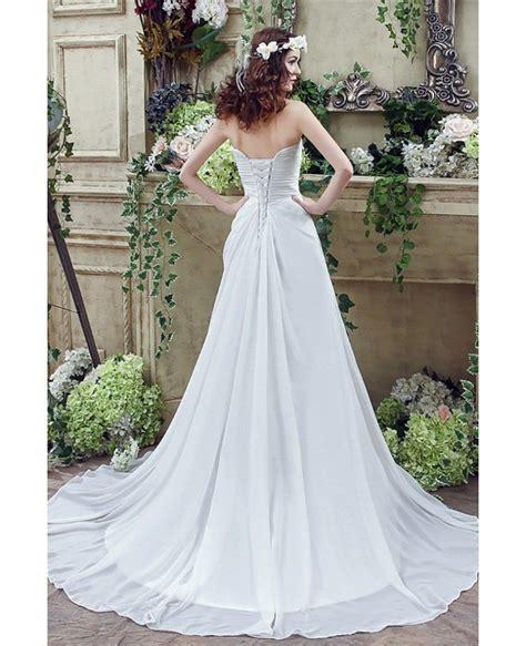Simple Chiffon Wedding Dresses