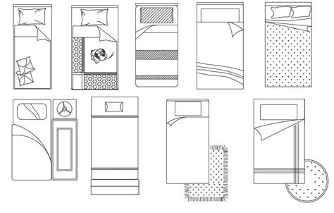 Single Bed Plans Drawings