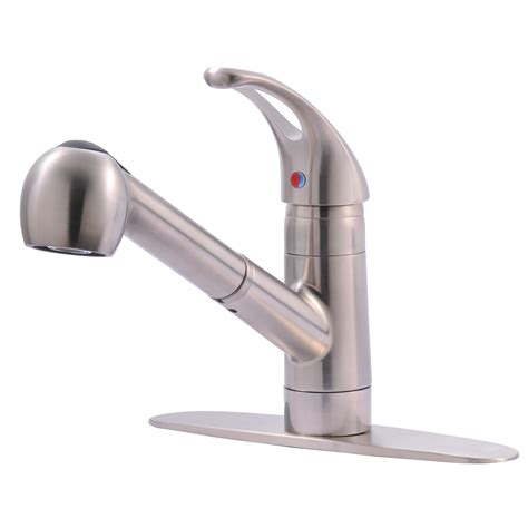 Single Hole Kitchen Faucet With Pull Out Spray  Rapflava.