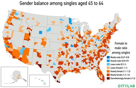Single On Valentines Day? It Might Be Where You Live - Citylab.