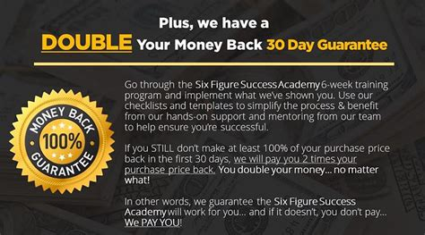 @ Six Figure Success Academy Review I Bought It .