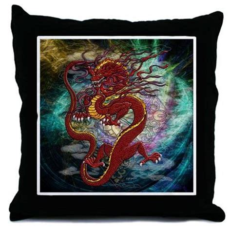 Sky Dragons Throw Pillows - Cafepress.