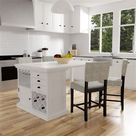 Small Counter Height Kitchen Island