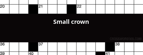 Small Crown Crossword