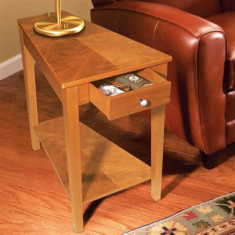 Small End Table With Drawer Plans