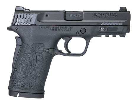 Smith  Wesson S M P 380 Shield Ez Is A Strong First Gun .
