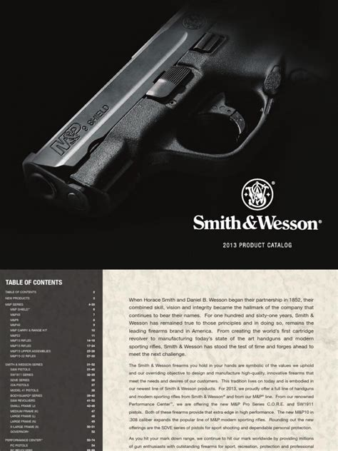 Smith Amp Wesson 2013 Catalog - Pdf Free Download.