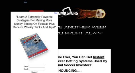[pdf] Soccer Betting Master -- Revolutionary Soccer Betting .