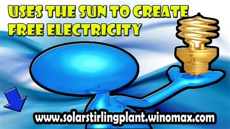 [click]solar Stirling Plant Review - How To Uses The Sun To Create Free Electricity.