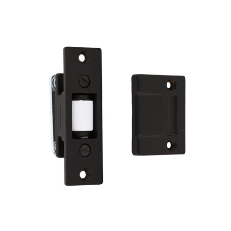 Solid Brass Heavy Duty Silent Roller Latch With Square Strike.
