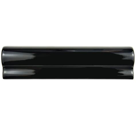 Somertile 2 X8 Thera Ceramic London Chair Rail Wall Tiles .
