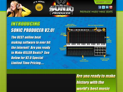 [click]sonic Producer V20 Just Released 1 Music Production Software.