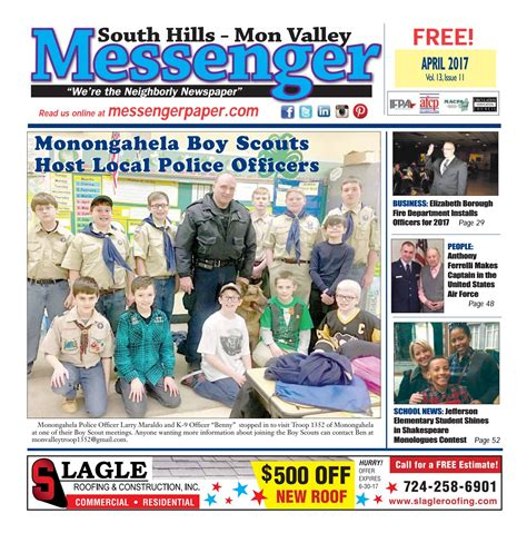 South Hills Mon Valley Messenger April 2017 - Issuu.