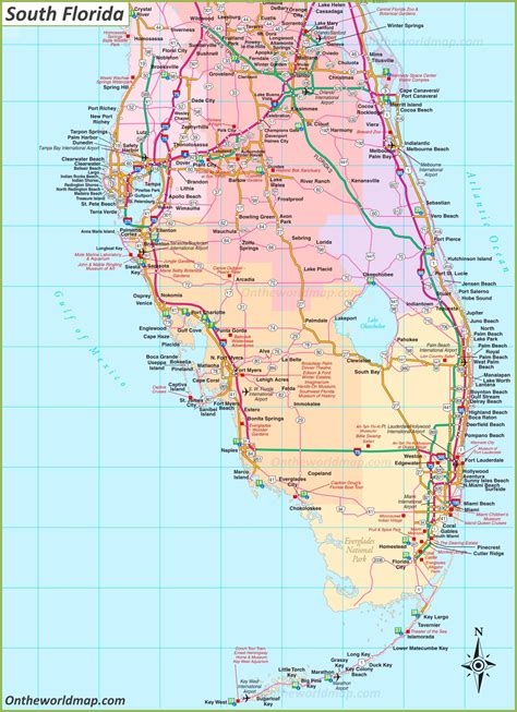 South Florida Map