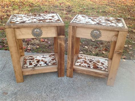 South-western End Tables