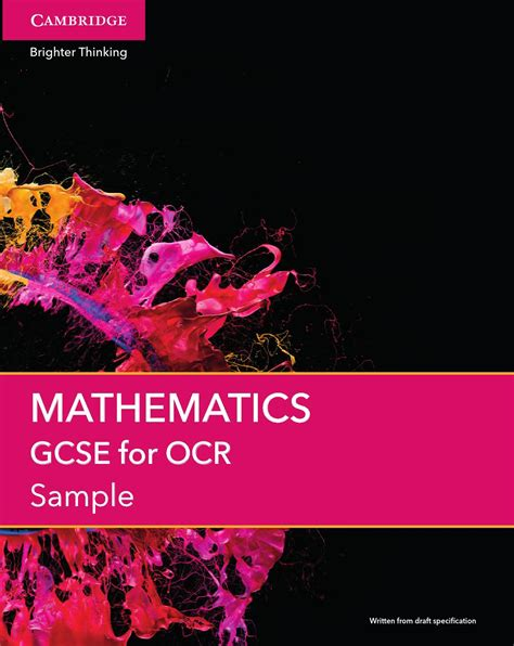 [pdf] Specification Mathematics A - Ocr Org Uk.