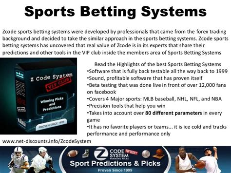@ Sportsbettingstar Sports Betting System