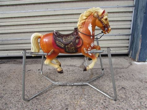 Spring Bouncy Rocking Horse