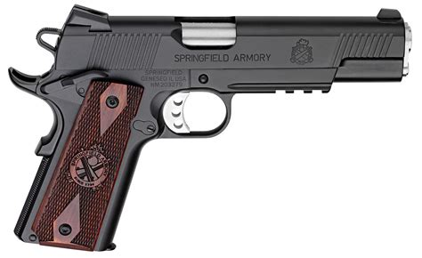 Springfield Armory Pc9108l 1911 Single 45 Acp 5 7 1 Black .