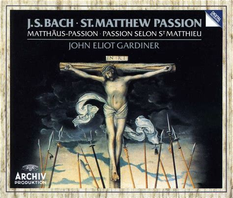 St. Matthew Passion Bach Recordings