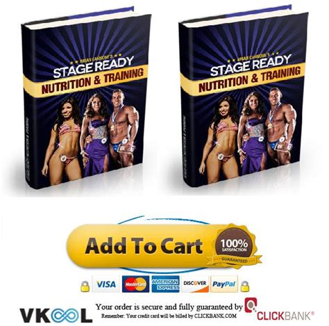@ Stage Ready Nutrition And Training Book.