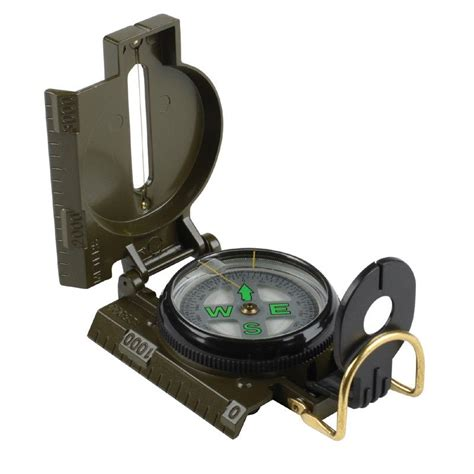 Stansport Lensatic Marching Compass-Liquid - Opticsplanet.