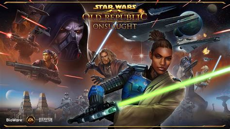 Star Wars: The Old Republic Announces Onslaught Expansion.